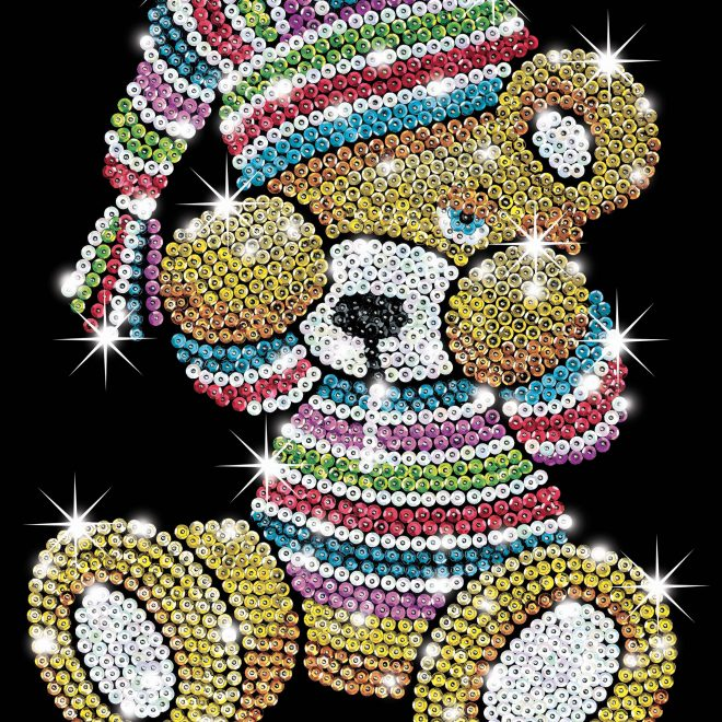 Teddy from Sequin Art Blue collection