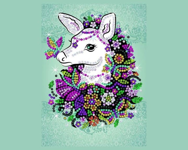 Fawn Design From Sequin Art Craft Teen Range