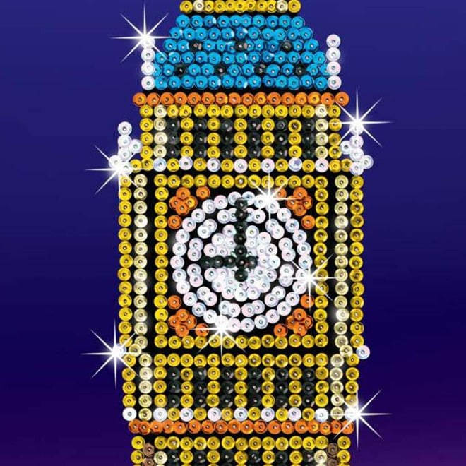 Big Ben from our Strictly Sequin Art range