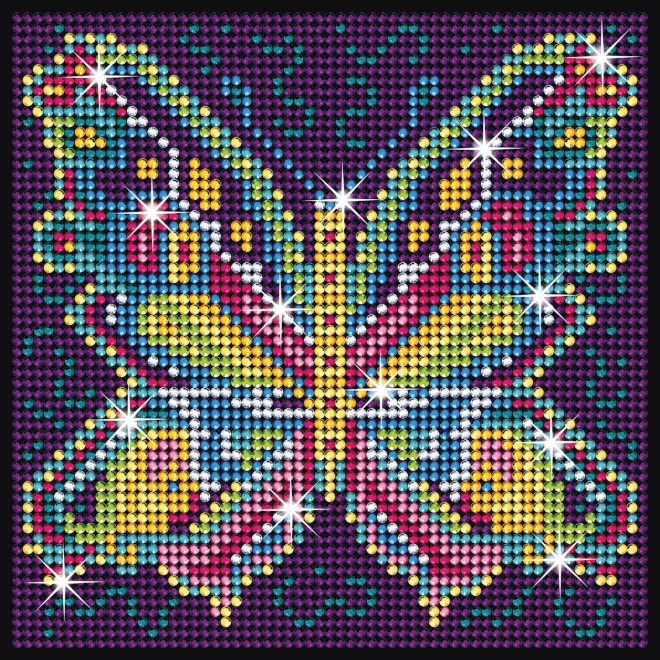 Beautiful Butterfly design is part of our Sequin Art Diamond Art range