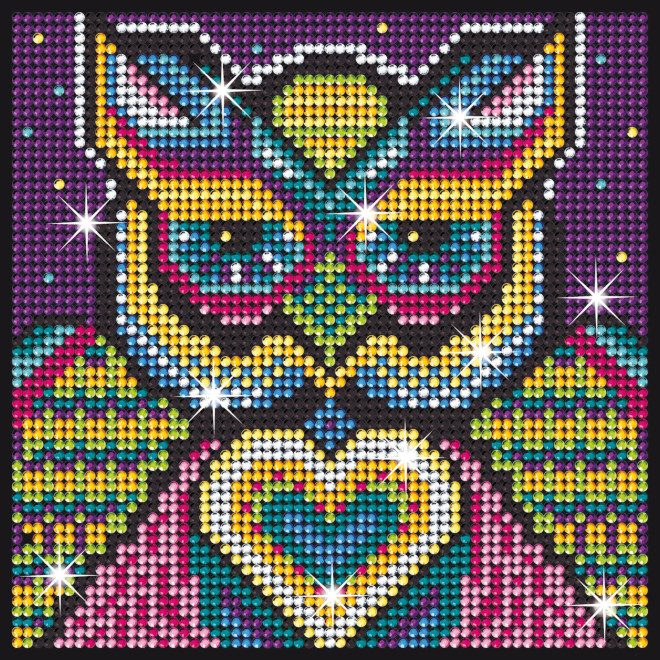 Owl design is part of our Sequin Art Diamond Art range