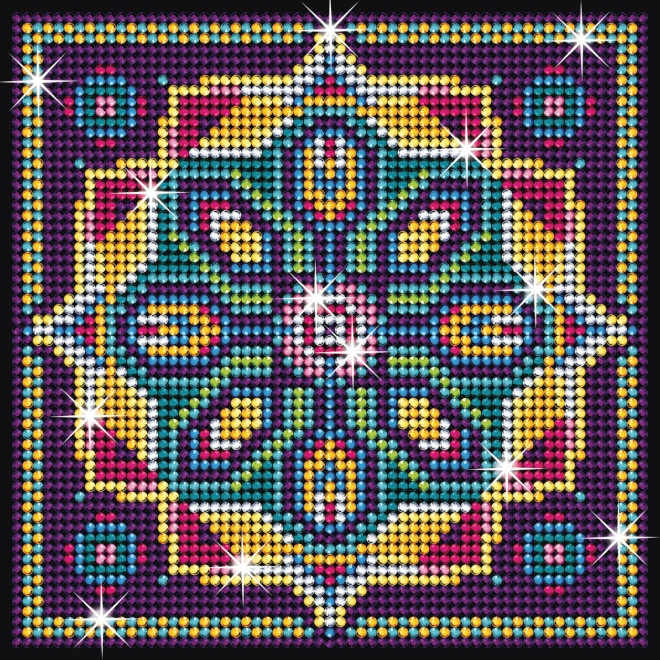 Diamond Pattern design is part of our Sequin Art Diamond Art range