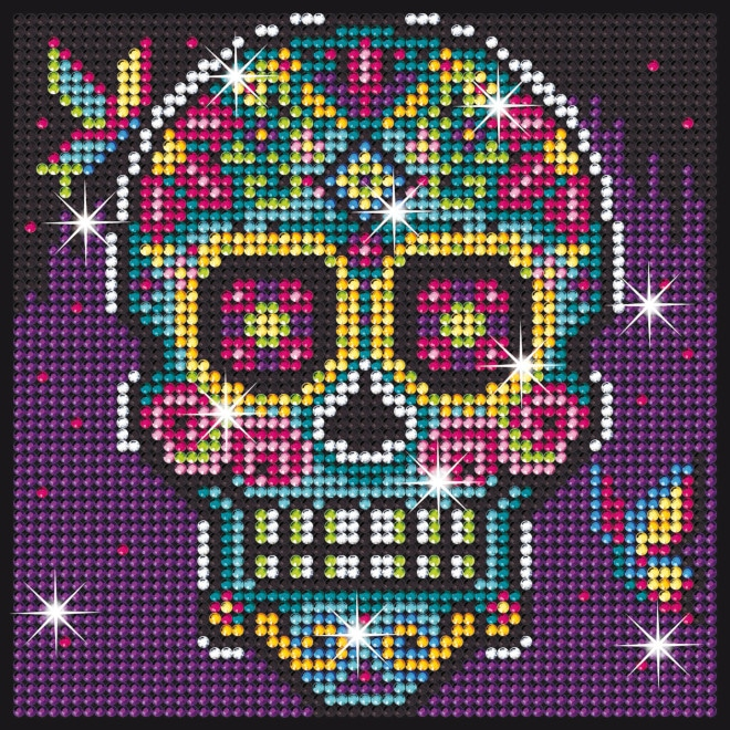 Sugar Skull design is part of our Sequin Art Diamond Art range