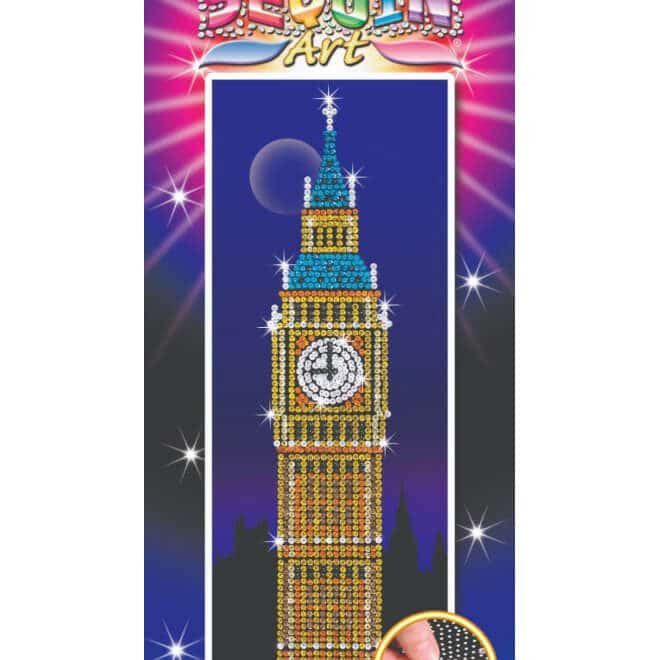 The Big Ben project is from our Sequin Are Strictly Range.