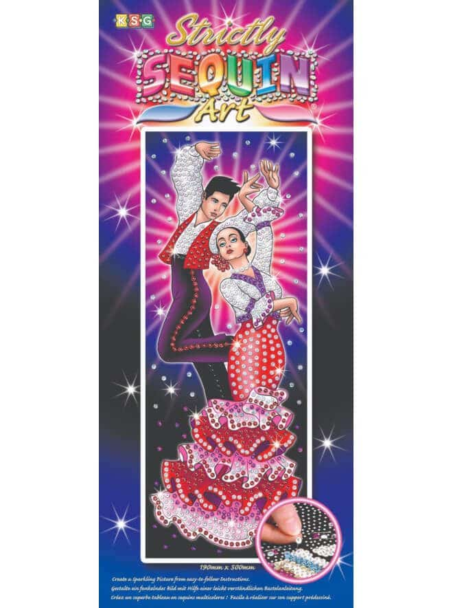 The Dancers are from our Sequin Art Strictly Range