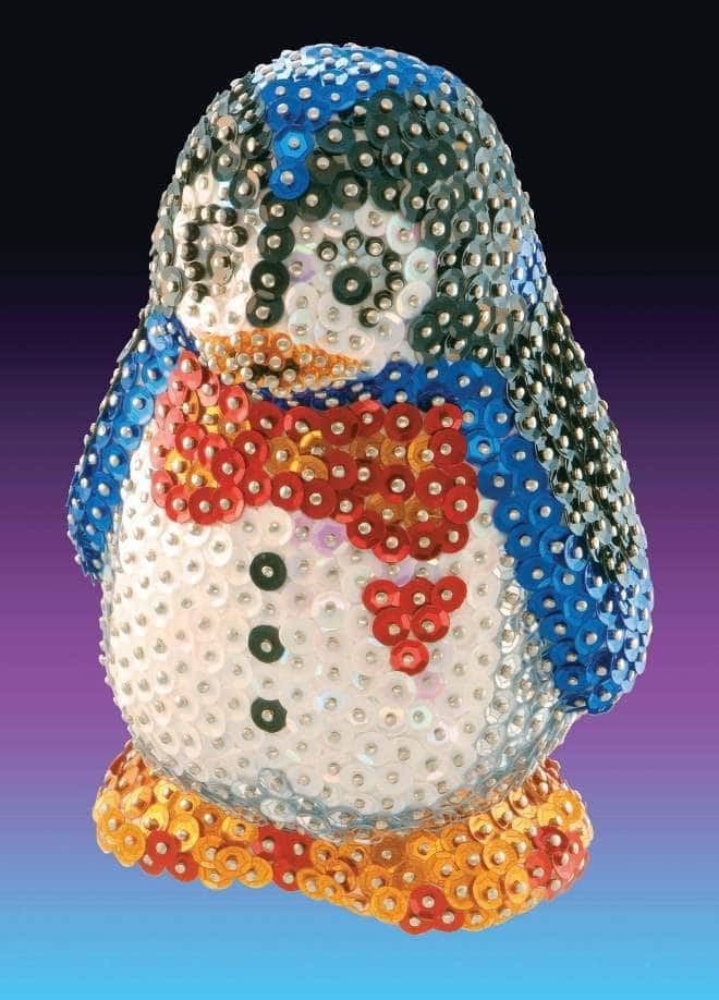 The Penguin is part of the Sequin Art 3D range