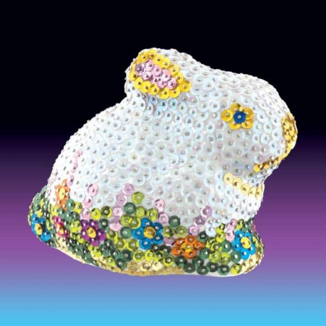 The Rabbit is part of our Sequin Art 3D range