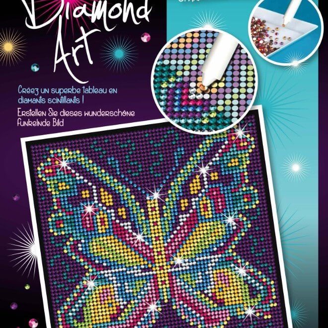 The Butterfly is from our Diamond Art Range.