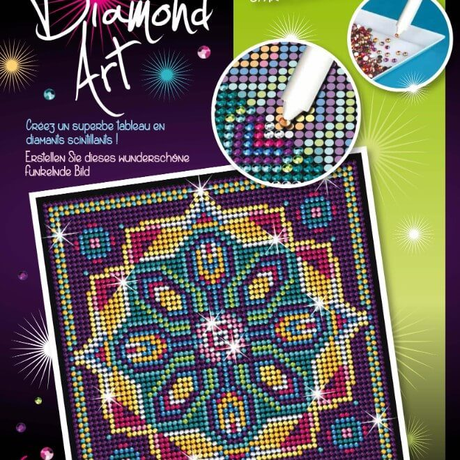The Pattern design is from our Diamond Art Range at Sequin Art.