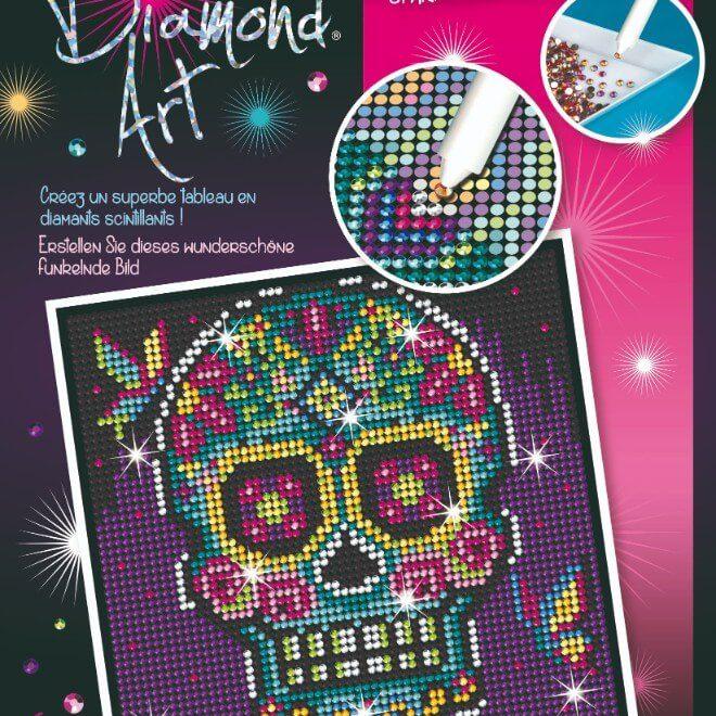 The Sugar Skull is part of our Diamond Art Range at Sequin Art.