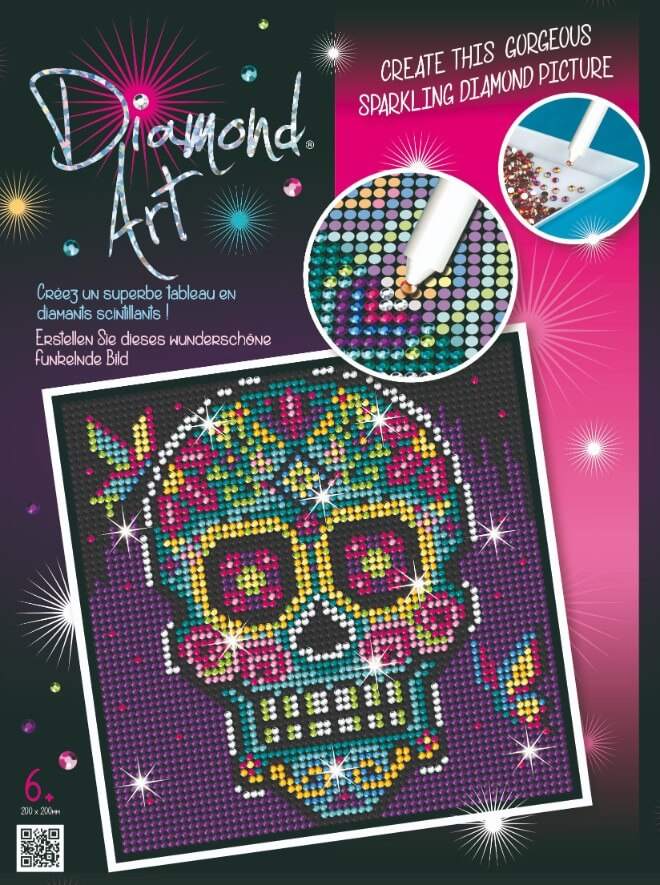 The Sugar Skull is part of our Diamond Art Range at Sequin Art.