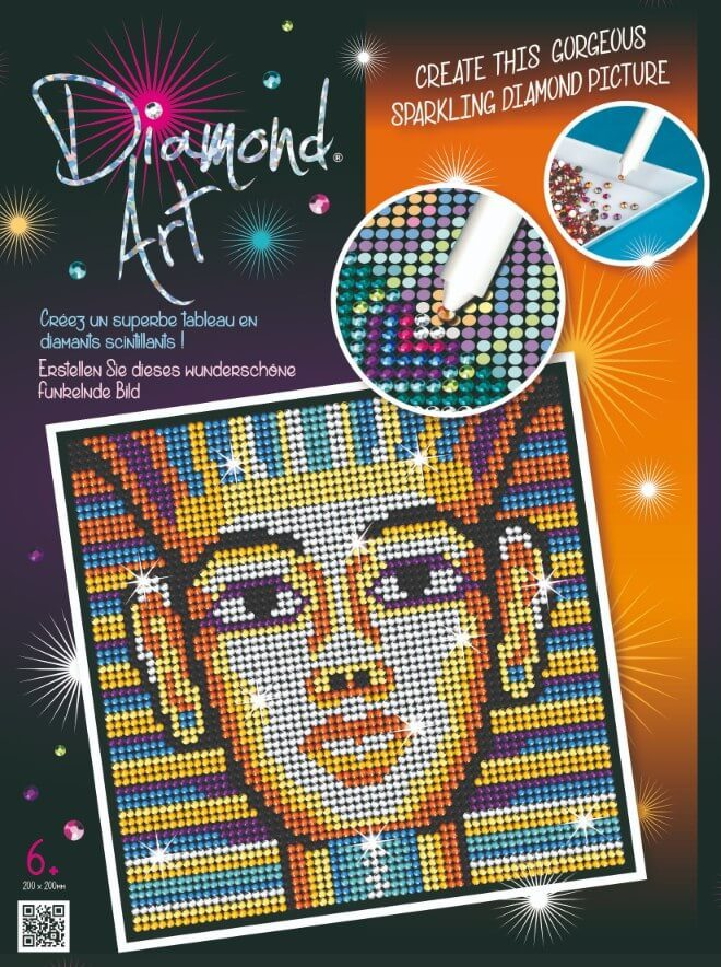 Tutankhamun from Sequin Art Diamond collection