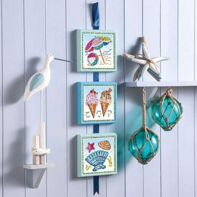 Summer from our Sequin Art Seasons range