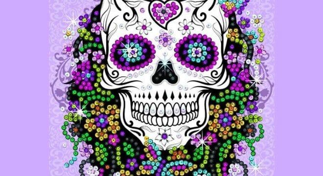 New Flower Skull Design From Craft Teen Range