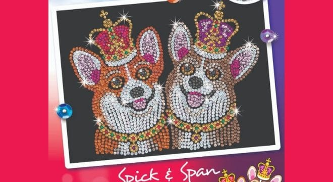New Design in Sequin Art Red Range - Spick and Span
