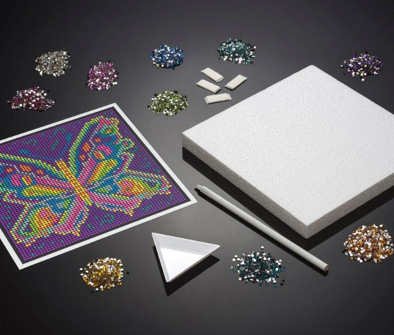 Diamond Art craft project