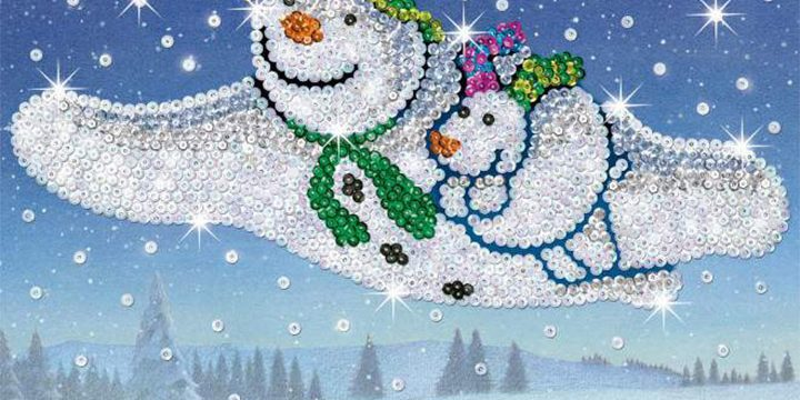 55%off The Snowman and The Snowdog design