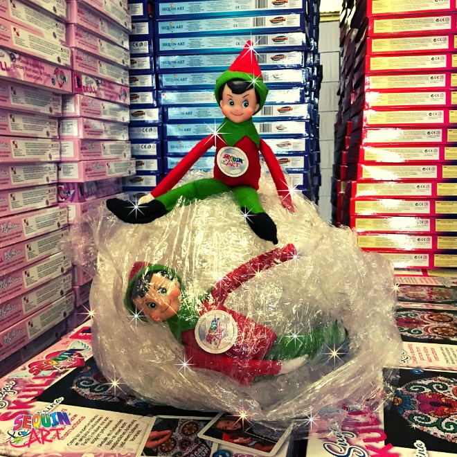 Elves in Shrink Wrap