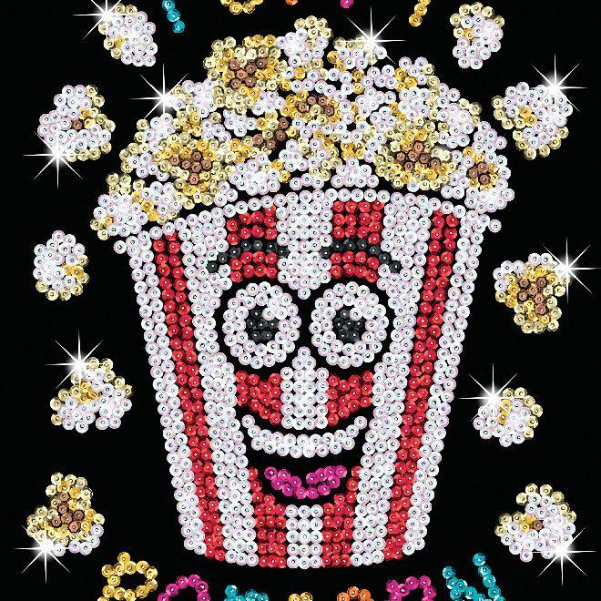 New Poppy Popcorn design from the Sequin Art Red Range