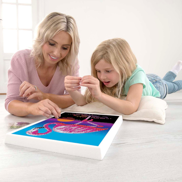 Sequin Art Is Perfect For Children & Adults