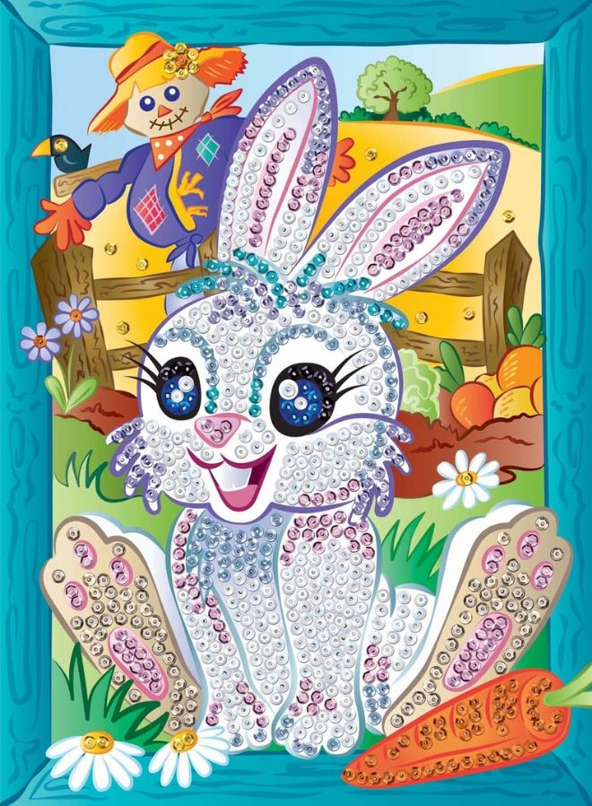 Sequin Art Smoogles Bunny Munch