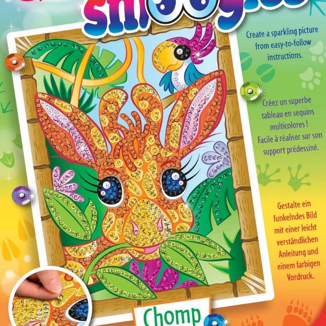 Brand new Sequi Art Smoogles design features giraffe called Chomp