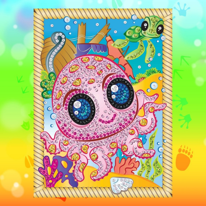Brand new Sequin Art Smoogles designs - Octopus Splash