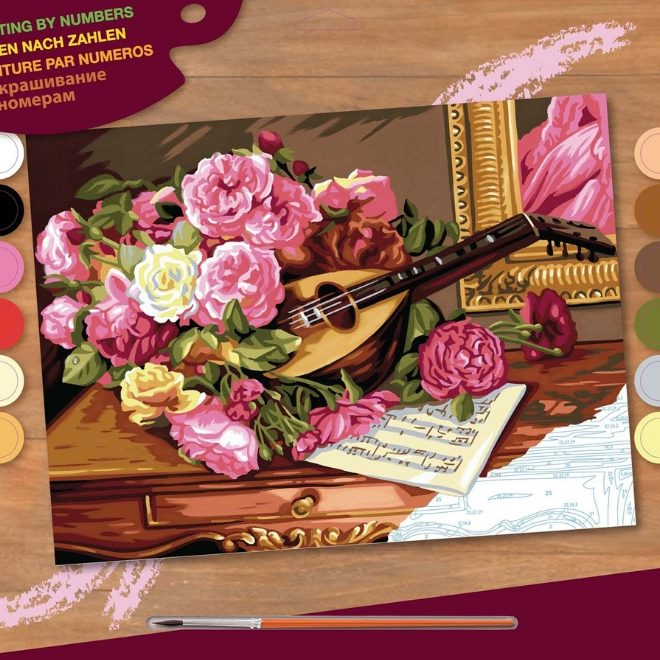 Painting By Numbers Romantic Bouquet Box 1037