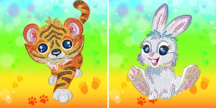 Join the adventure with a brand-new Sequin Art Smoogles collection