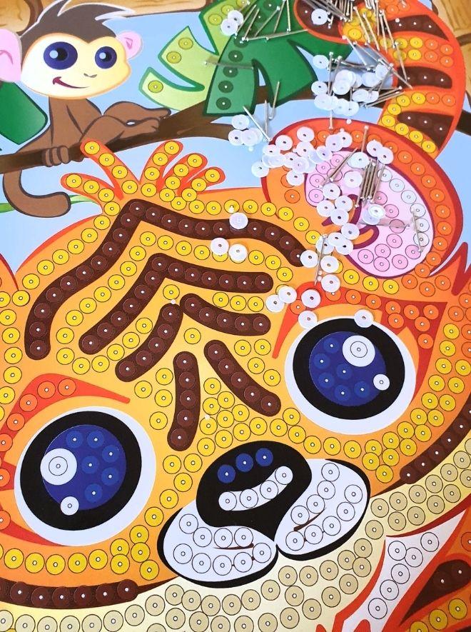 Sequin Art craft kit for children