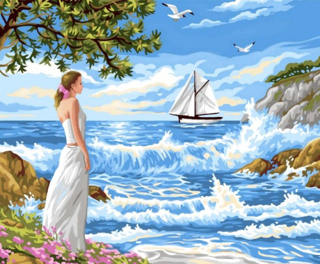 Senior Painting By Numbers Whispering Shores 1334