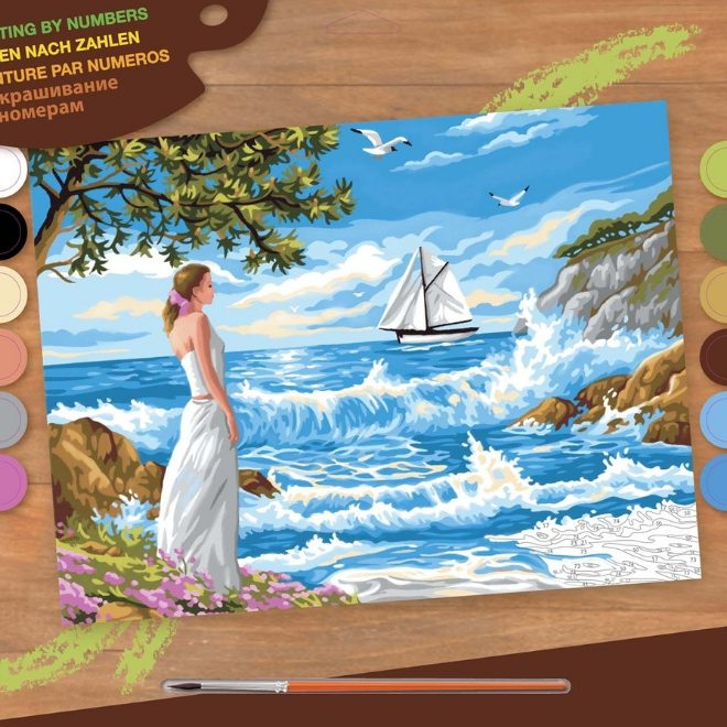 Senior Painting By Numbers Whispering Shores Box 1334