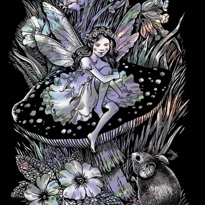Scratch Art Fairy project