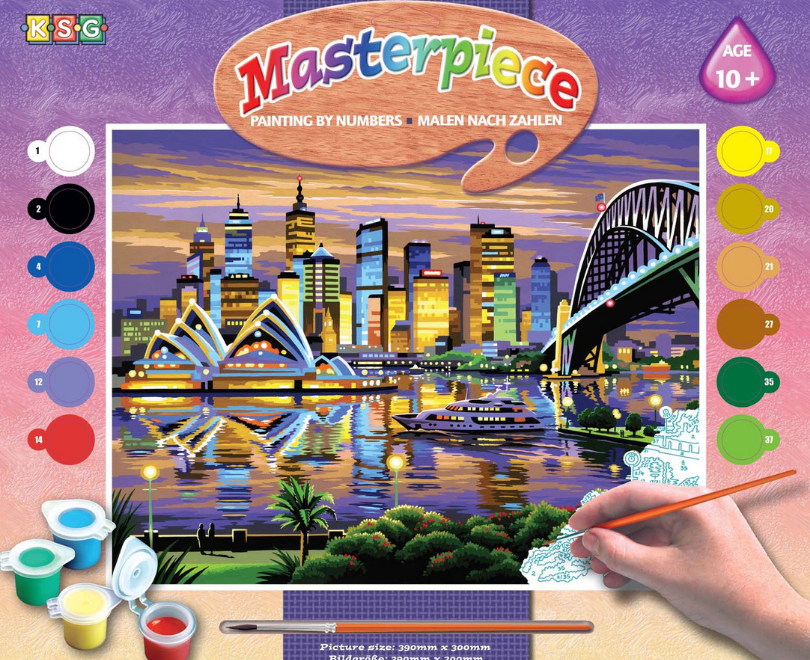Sydney Painting By Numbers picture