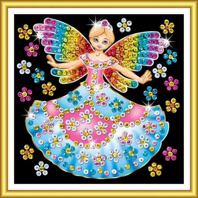 Fairy Princess craft kit from the Sequin Art 60 range