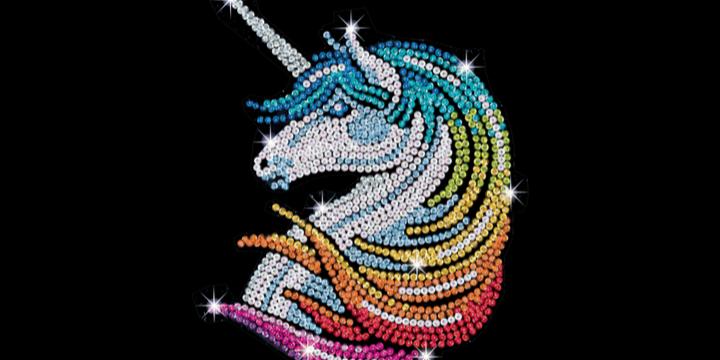 Sequin Art Unicorn craft