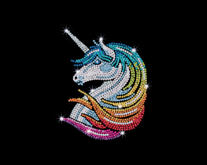 Sequin Art Unicorn craft