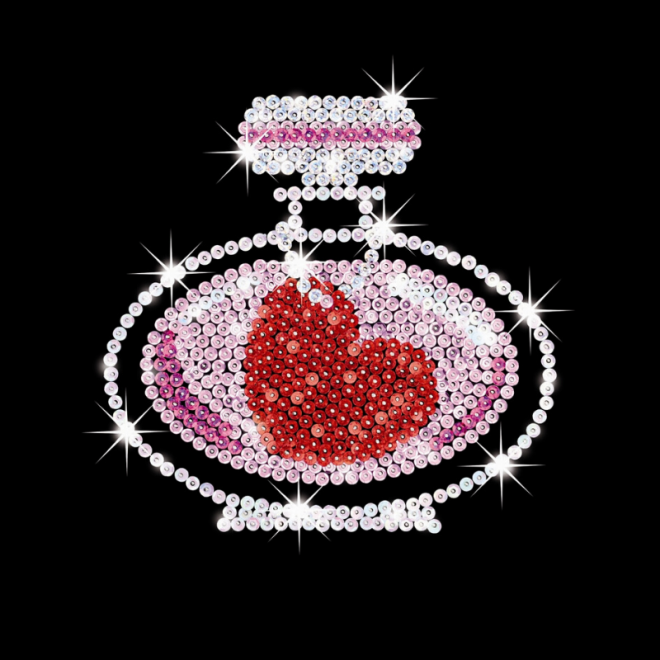 Sequin Art Pop Art Fashion craft kit