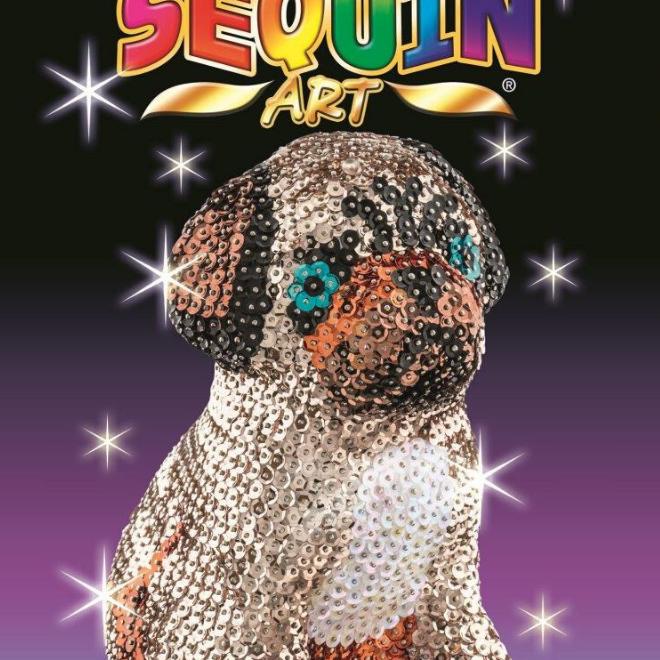 Sequin Art 3D Pug craft set