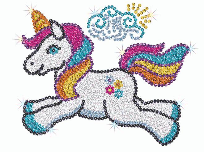 Sequin Art Astra Unicorn craft kit