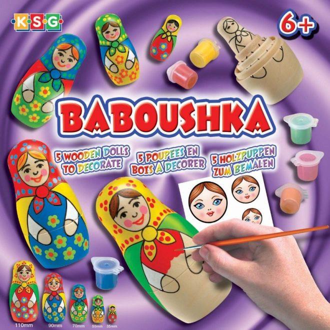 Baboushka Russian Dolls craft set
