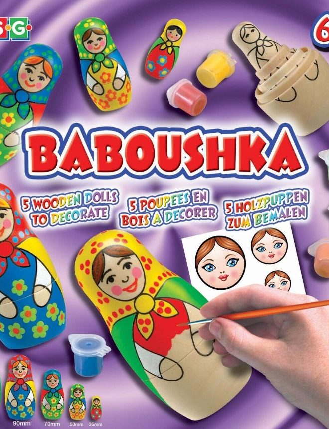Baboushka Russian Dolls craft set