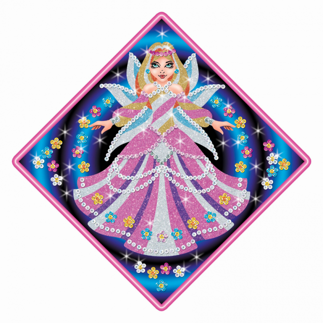 Sequin Art Stardust Fairy Princess craft kit