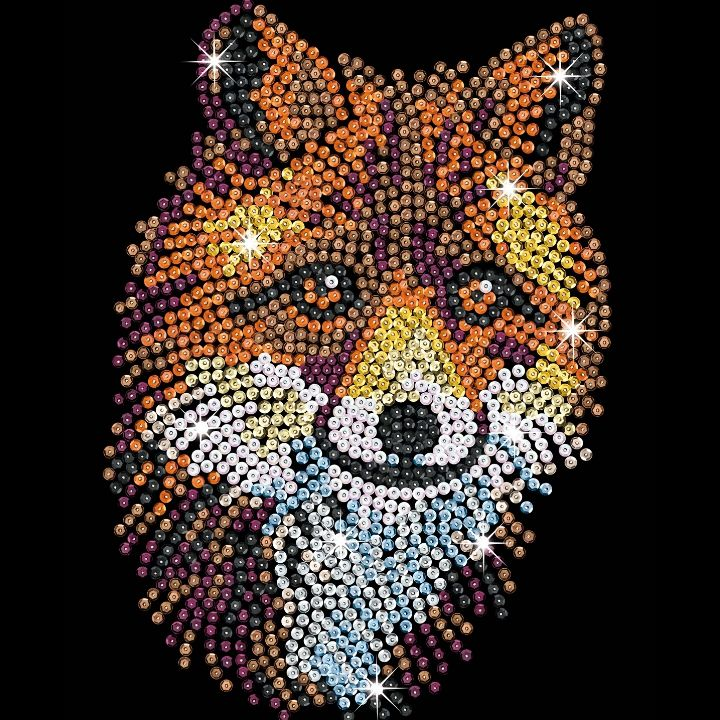 Sequin Art brand-new for 2020 Red Fox design
