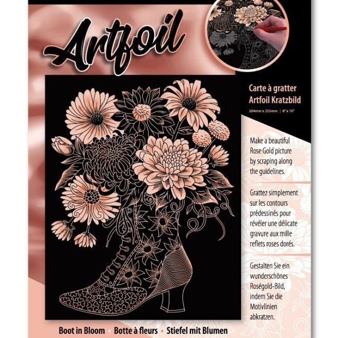Boot In Bloom craft kit for adults and children