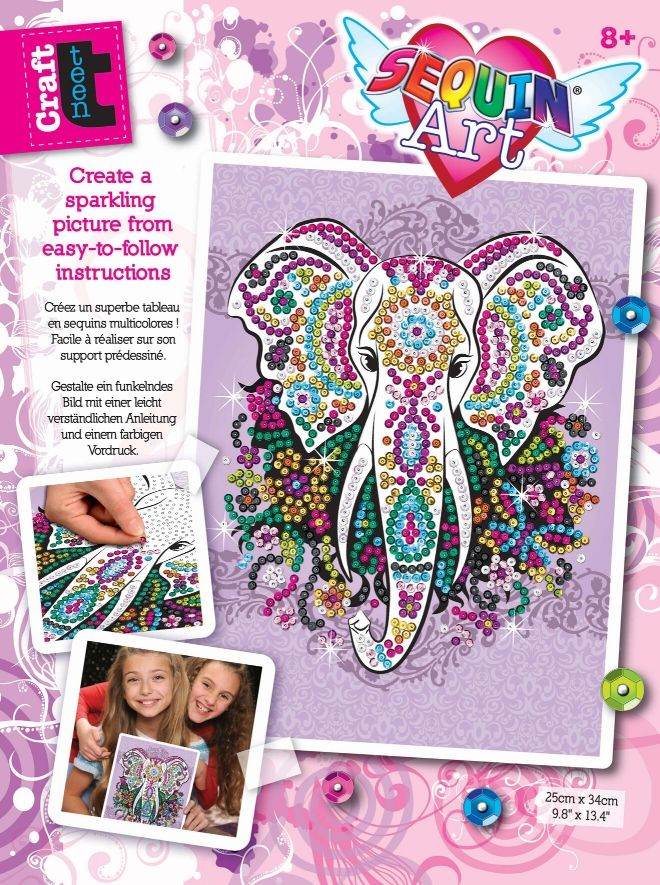 Sequin Art Craft Teen