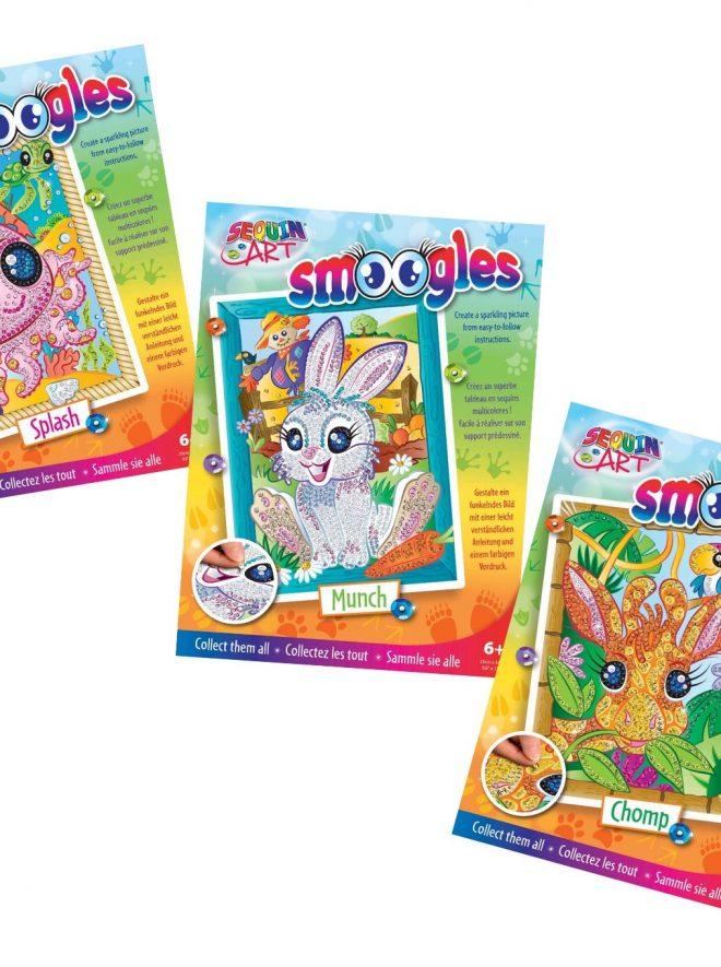 Sequin Art Smoogles gift set bundle