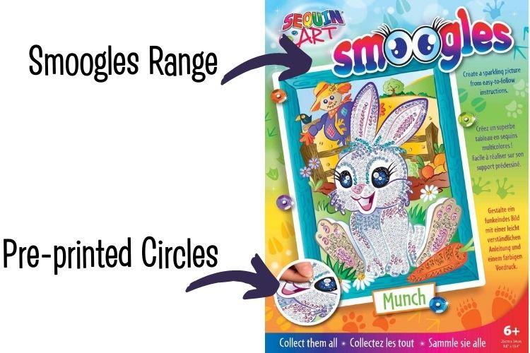 Sequin Art Smoogles range explained
