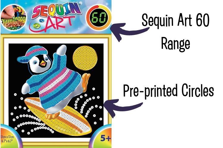 Sequin Art 60 Range update