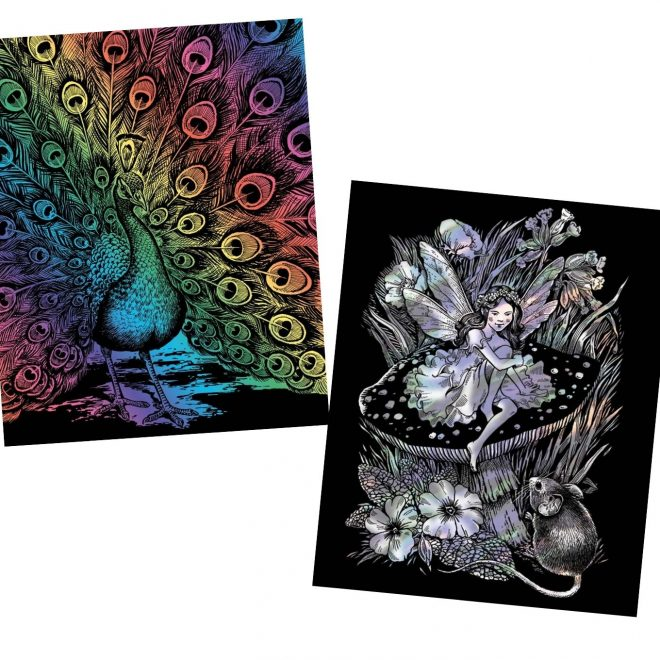 Artfoil Scratch Art projects